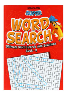 Word Search Book - Part 8