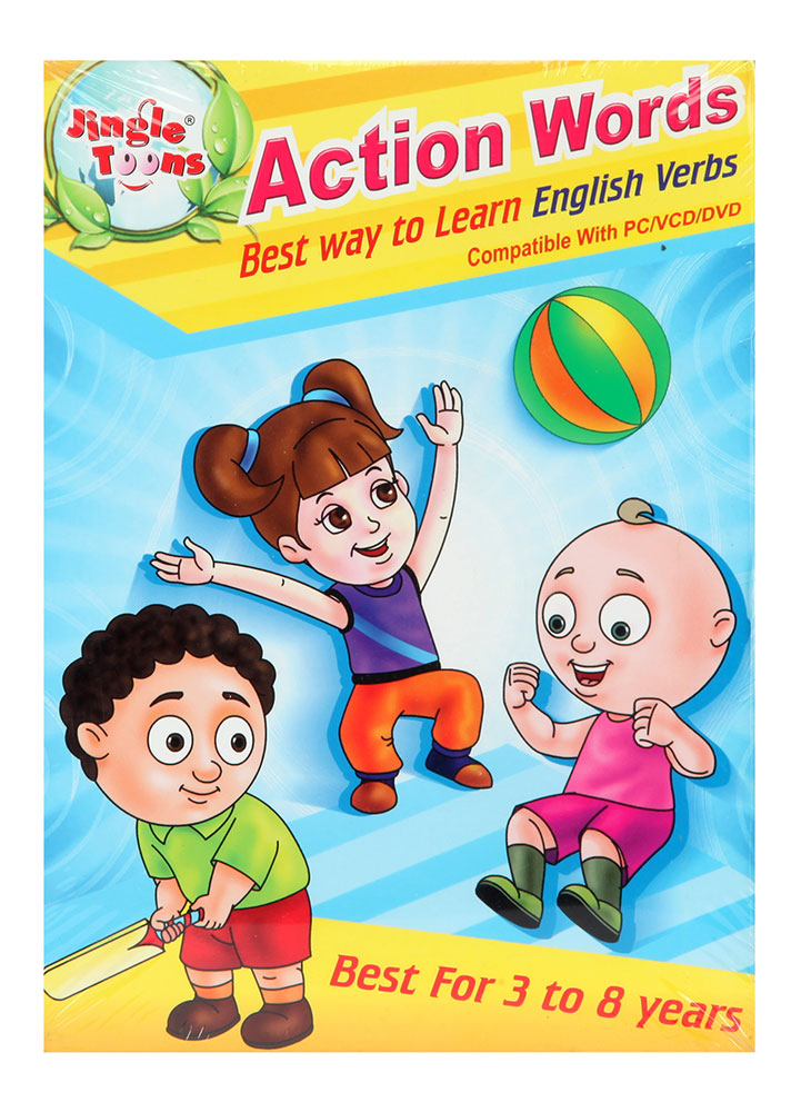 Buy Action Words Best Way To Learn English Verb Vcd Online
