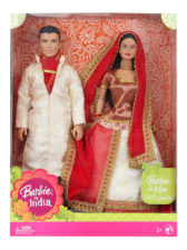 Barbie And Ken (White-Red)