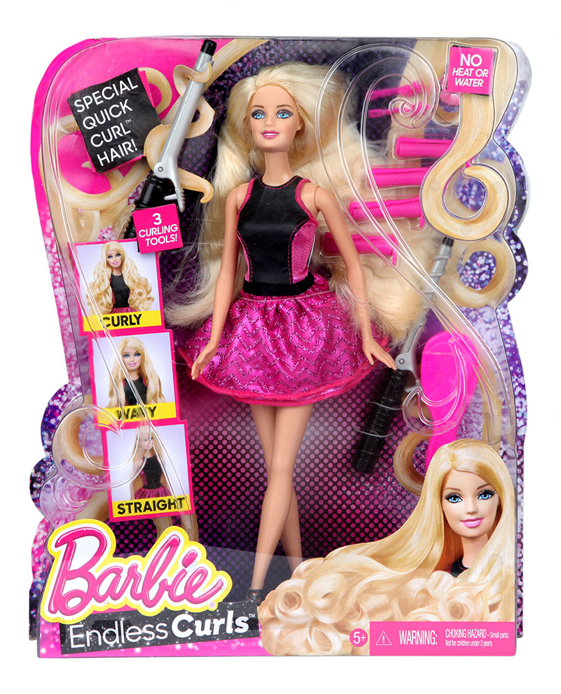 Buy Barbie Endless Curls Online In India • Kheliya Toys