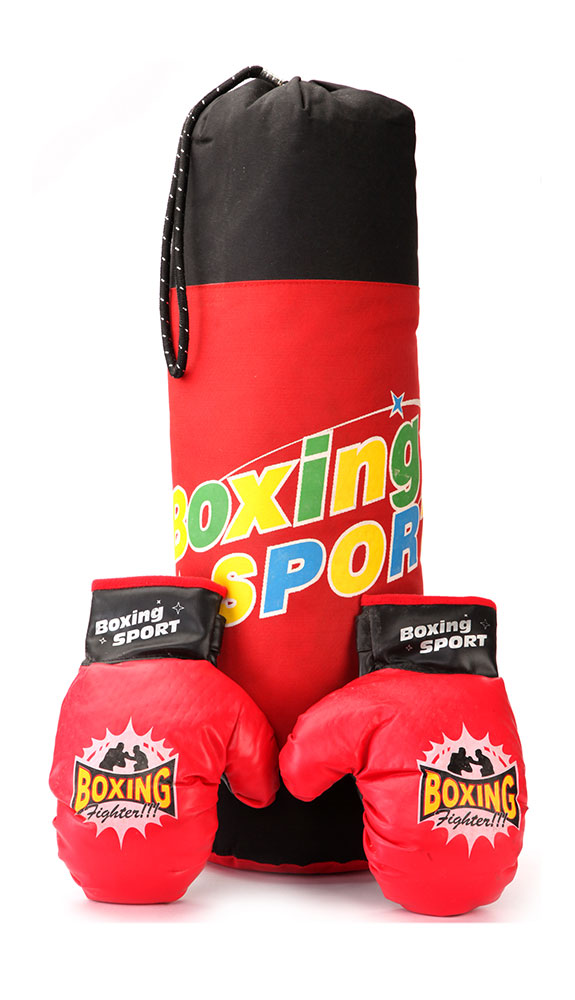 Buy Boxing Set Red Boxing Fighter Online In India