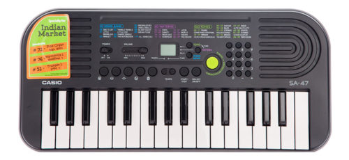 Casio Electronic Keyboard Sa-47 Without Charger