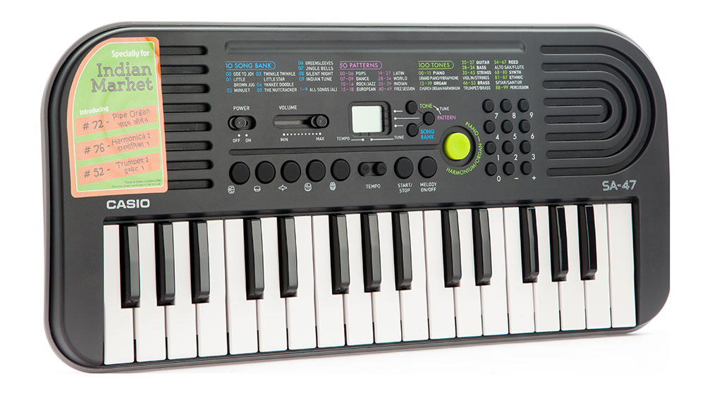 Buy Casio Electronic Keyboard Sa 47 Without Charger Online