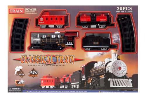 Classical Train 20 Pieces With Smoke