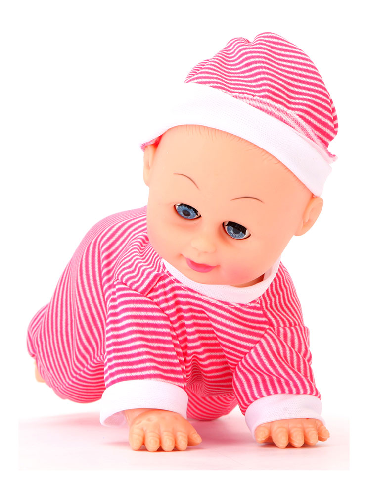Buy Crawling And Dancing Baby Pink Online In India