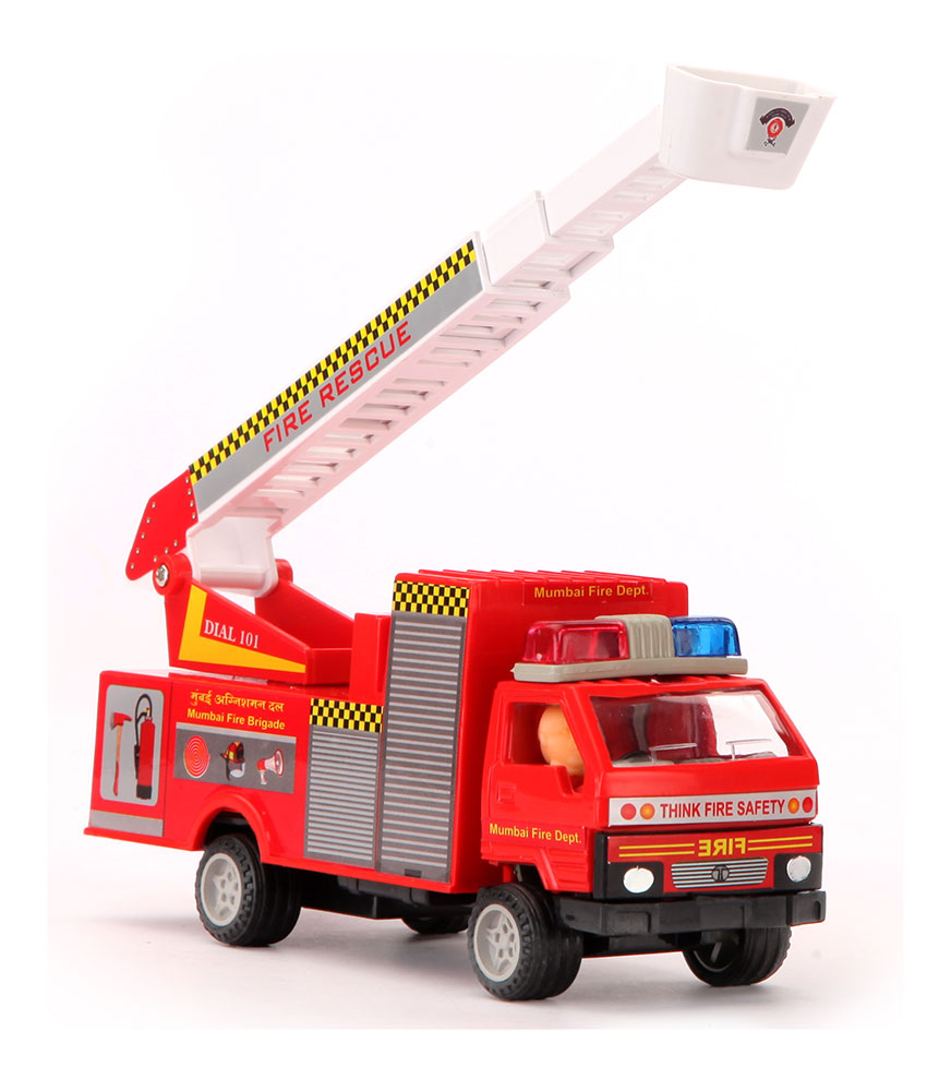 buy fire brigade truck online in india kheliya toys. Black Bedroom Furniture Sets. Home Design Ideas