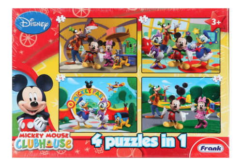 Frank Mickey Mouse Clib House 4 In 1