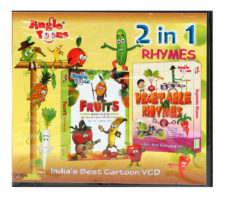 Fruits & Vegetables Rhymes Combo 2-in-1 VCD