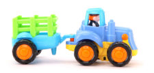 Happy Engineering Vehicle - Tractor With Trailer