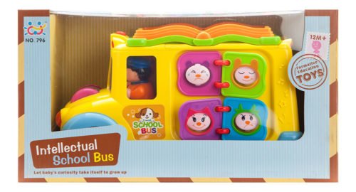 Intellectual School Bus With Activities & Sound