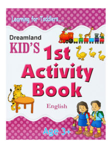 Learning For Toddlers - Kid's 1st Activity Book - English