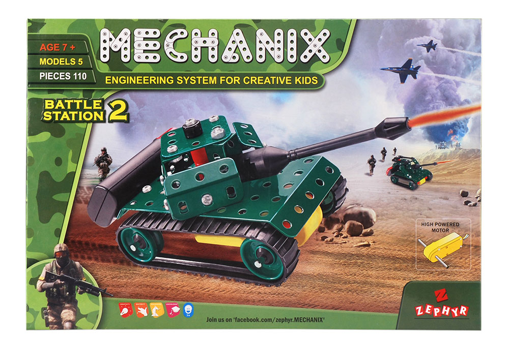 Buy Mechanix Battle Station 2 Online In India Kheliya Toys