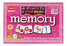 Memory Alphabets And Numbers