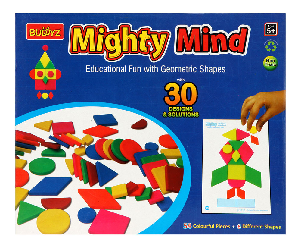 Buy Mighty Mind Educational Fun With Geometric Shapes