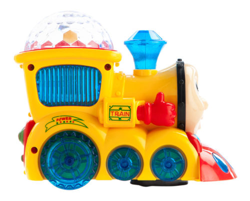 Musical Engine With 3D Lights (Yellow)