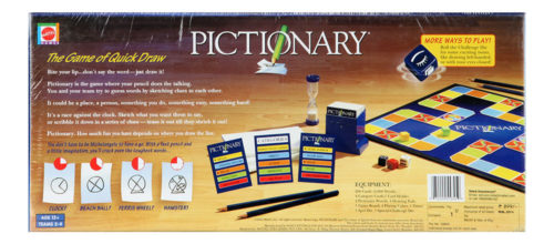 Pictionary - The Game Of Quick Draw - Adult