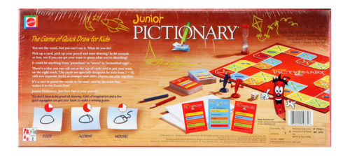 Pictionary - The Game Of Quick Draw - Junior