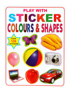 Play With Stickers Colours & Shapes