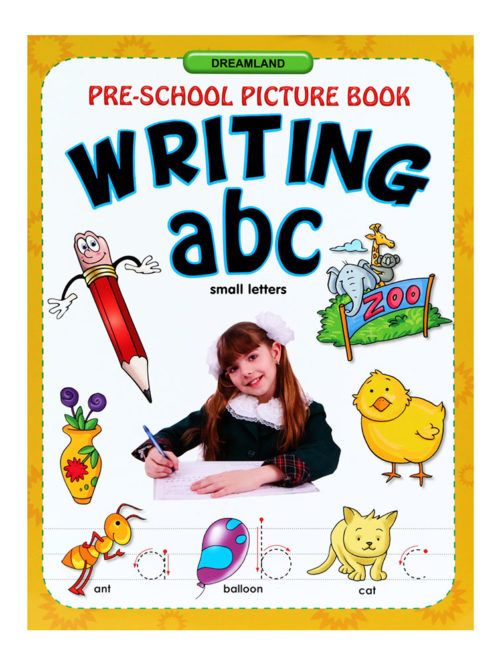 Pre-school Picture Book: Writing ABC (Small Letters)