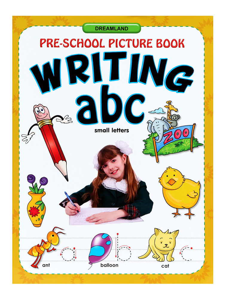 buy pre school picture book writing abc small letters With picture books about writing letters