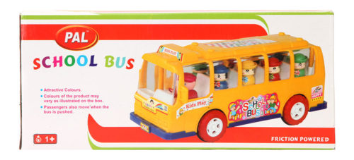 School Bus Friction Powered