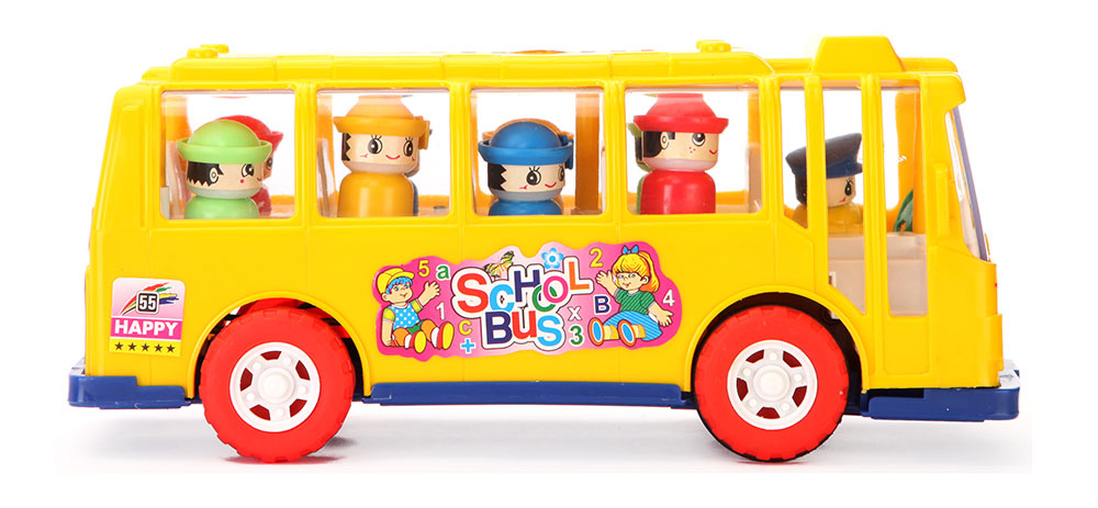Bus Toys For Girls : Buy anand school bus friction powered online in india