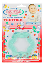 Silicon Rubber Teether: Flower