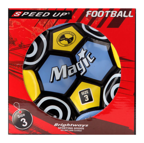 Speed Up Football - Blue (Size 3)