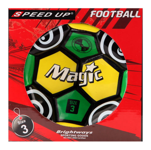 Speed Up Football - Green (Size 3)