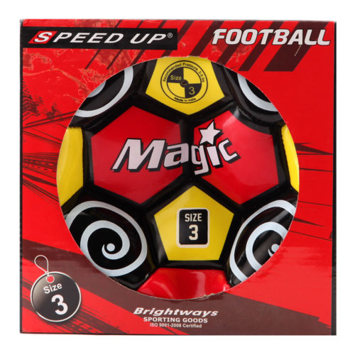 Speed Up Football - Red (Size 3)