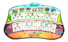 Touch & Lean Musical Play Mat Battery Operated