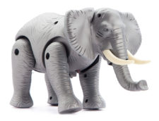 Toy Elephant With Sound