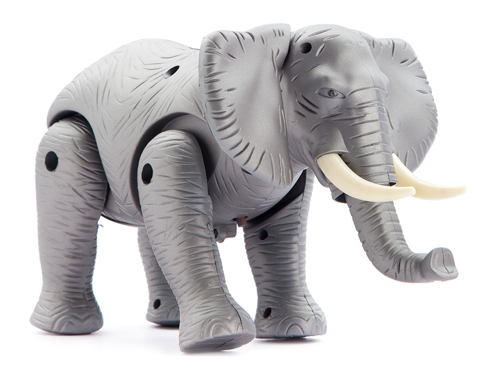 Toys For Elephant : Buy toy elephant with sound online in india kheliya toys