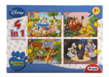 Animal Friends  4 In 1 Puzzle