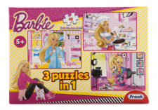 Barbie 3 In 1  48 Pcs Puzzles