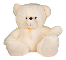 Chip Bear 60cm Cream