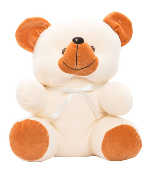Cuddly Bear Large 30cm Brown And Cream