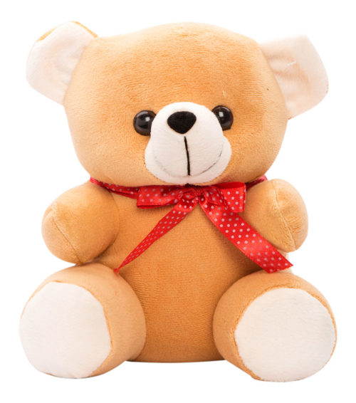 Cuddly Small 18cm Brown And Cream
