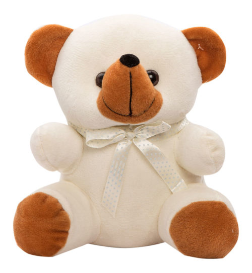 Cuddly Small 18cm Cream And Brown