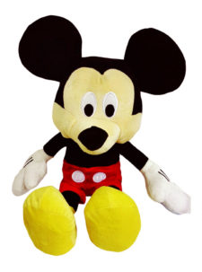 "Disney Mickey Plush Multicolour 12"" Soft Toy"