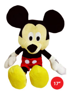 "Disney Mickey Plush Multicolour 17"" Soft Toy"
