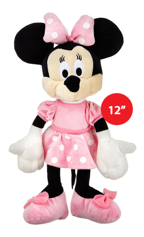 "Disney Minnie Plush Multicolour 12"" Soft Toy"