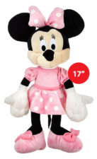 "Disney Minnie Plush Multicolour 17"" Soft Toy"