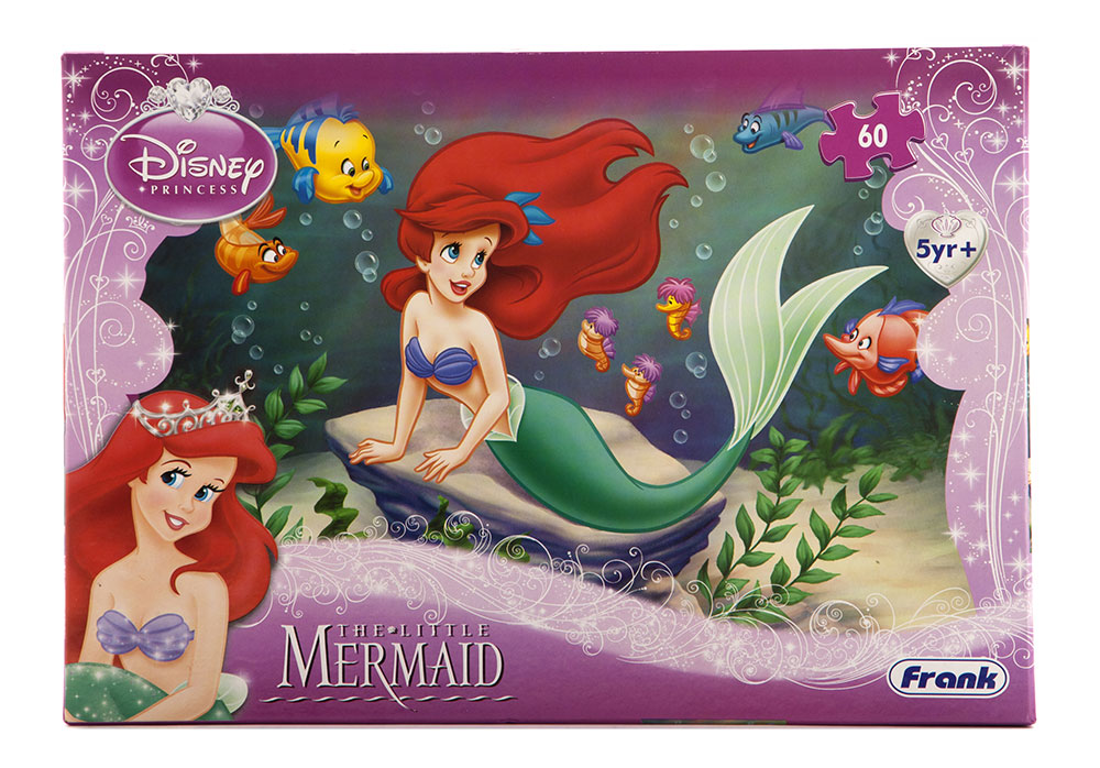 Buy Disney The Little Mermaid 60 Pcs Online In India