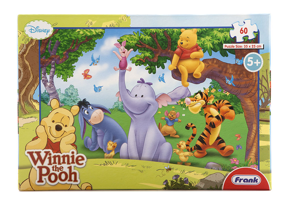 Winnie The Pooh Giochi: Buy Disney Winnie The Pooh 60 Pcs Puzzle Online In India