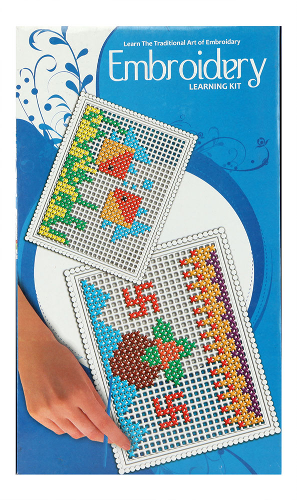 Buy embroidery learning kit online in india kheliya toys