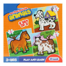 Frank-My First Puzzle Animals