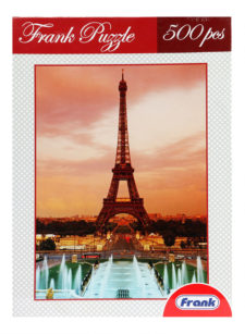 Frank Puzzle Eifel Tower 500 Pcs