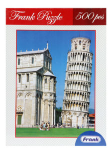Frank Puzzle Leaning Tower Of Pisa 500 Pcs