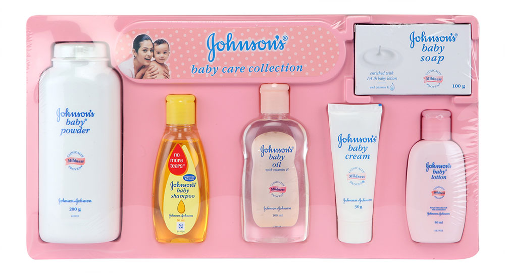 Buy Johnson S Baby Care Collection Deluxe Standard Online
